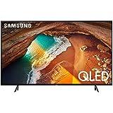 Samsung QN65Q60RAFXZA Flat 65-Inch QLED 4K Q60 Series Ultra HD Smart TV with HDR and Alexa Compatibility (2019 Model)