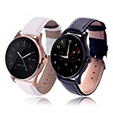 RG 2 PCS Multifunctional Bluetooth Fitness Tracking System Android Smartwatch Support Heart Rate Monitor IP54 Waterproof Couple