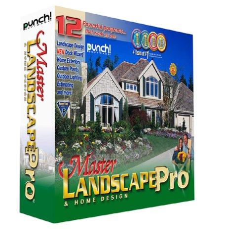 Amazon.com: Punch! Master Landscape Pro and Home Design