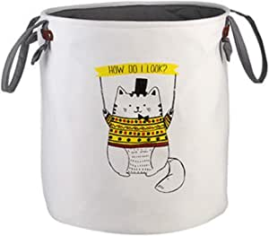 Large Fabric Storage Basket Bin Toy Organizer - Multi Color