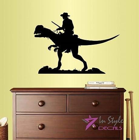 Amazon.com: Wall Vinyl Decal Home Decor Art Sticker Cowboy Riding a ...