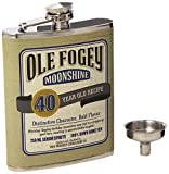Laid Back CF1301 40th Birthday Ole Fogey Spirit Flask, 7-Ounce