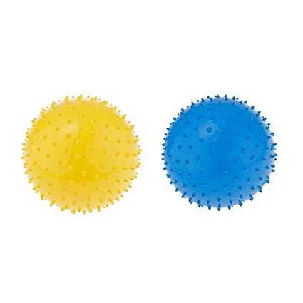 non-brand 2 Piezas Pelota Sensorial Puntiaguda Hinchable Bolas de ...