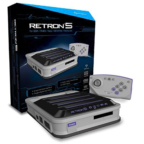 (Hyperkin RetroN 5 Retro Video Gaming System (5 in 1) - Grey (Electronic Games) by Hyperkin)