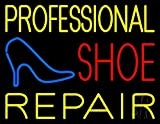 The Sign Store N105-10066 Professional Shoe Repair Neon Sign44; 24 x 3 x 31 in.