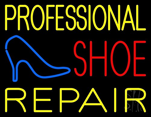 The Sign Store N105-10066 Professional Shoe Repair Neon Sign44; 24 x 3 x 31 in. by The Sign Store