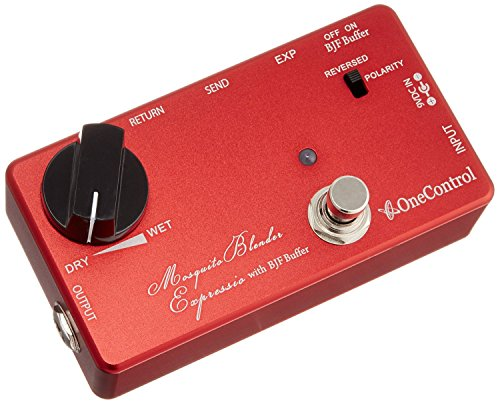 Blender Pedal - One Control Mosquite Blender Expressio - Wet/Dry Effects Blender Pedal