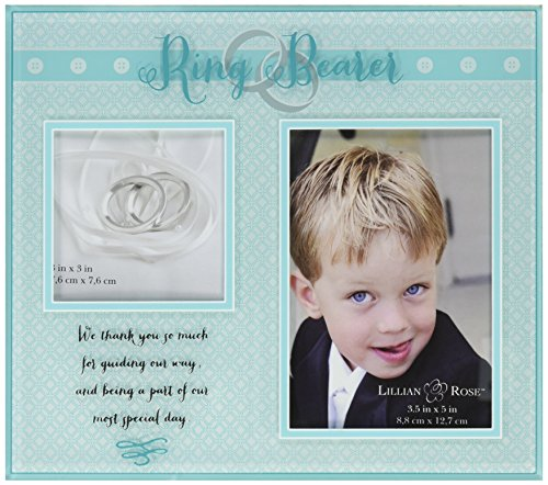 Lillian Rose Ring Bearer Picture Frame, 8.5-Inch by 7.5-Inch (Ring Bearer Picture Frame compare prices)