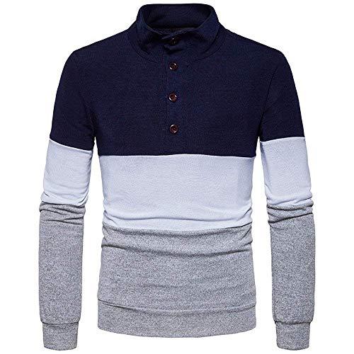 Los Hombres Otoño Azul Stricktop Primavera Punto Moda Primer Lucha Ropa Suéter La De Color U1EtBnqx