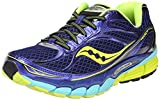 Saucony Women's Ride 7 Running Shoe,Twilight/Oxygen/Citron,10.5 M US