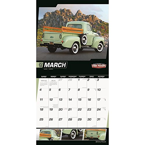 Classic Ford Pickups 2018 Wall Calendar Photo #2