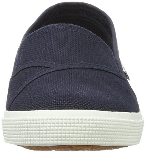 Superga Ladies 2210 Cotw Slippers Blau (navy-white)
