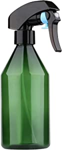 driew Plant Mister Spray Bottle, Fine Mist Spray Bottle for Cleaning Solution Gardening Trigger Water Empty Sprayer 10oz (Green)