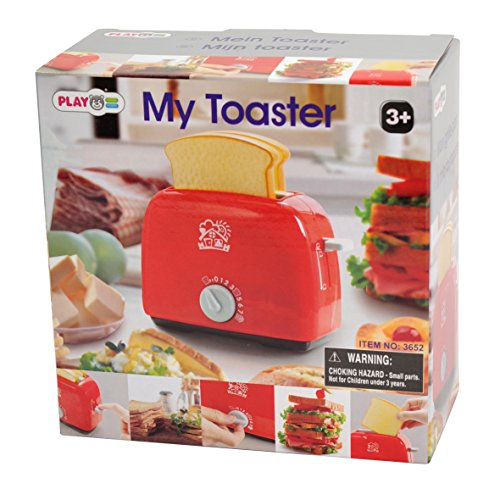 PlayGo My Toaster for Kids Playhouse (Play Toaster Pretend)