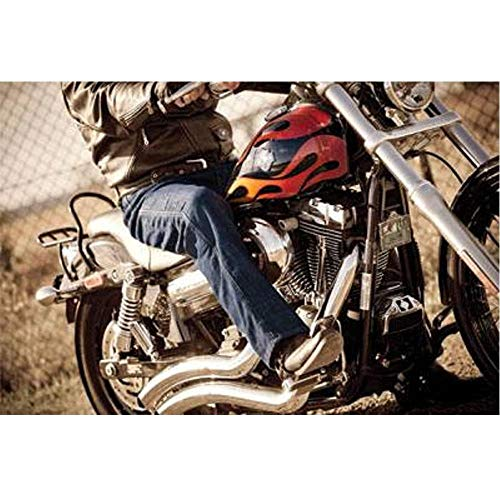 (Drayko 'Renegade Riding' Mens Blue Jeans - 44)
