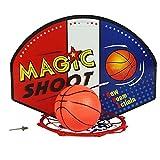 Rely2016 Child Kids Wall Mounted Plastic Mini Basketball Hoop Indoor Outdoor Basketball Board Backboard Net Hoop Set with Basketball