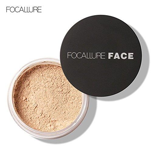 Datework Focallure Oil Lasting Anti-sweat Breathable Transparent Loose Powder (2#)