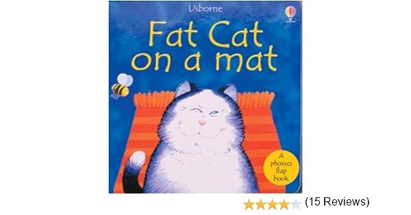 Fat Cat on a Mat (Phonics Board Books): Phil Roxbee Cox, Jenny ...