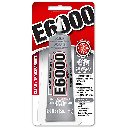 E6000 Craft Adhesive, 2 fl oz Clear - Skinny Tip
