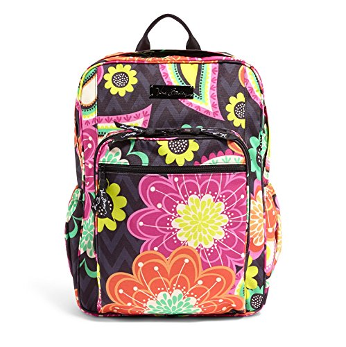 Vera Bradley Womens Lighten Up Campus Backpack