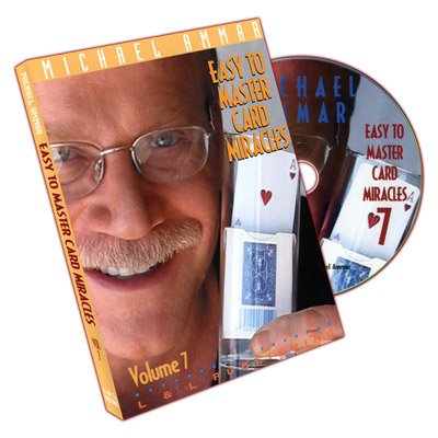 Price comparison product image Easy To Master Card Miracles - Volume 7 by Michael Ammar - DVD