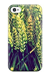For Iphone 4/4s Premium Tpu Case Cover Wheat Protective Case