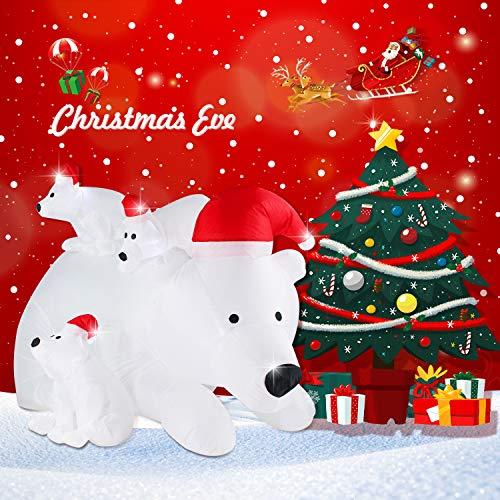 Lighted Christmas Bear Outdoor