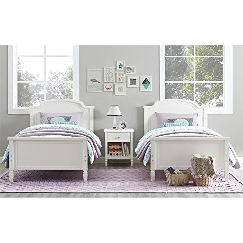 Dorel Living Vivienne Over Bunk Bed Twin White Buy