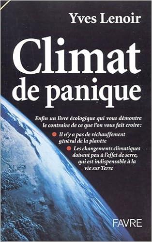 Télécharger livre Climat de panique pdf gratuit