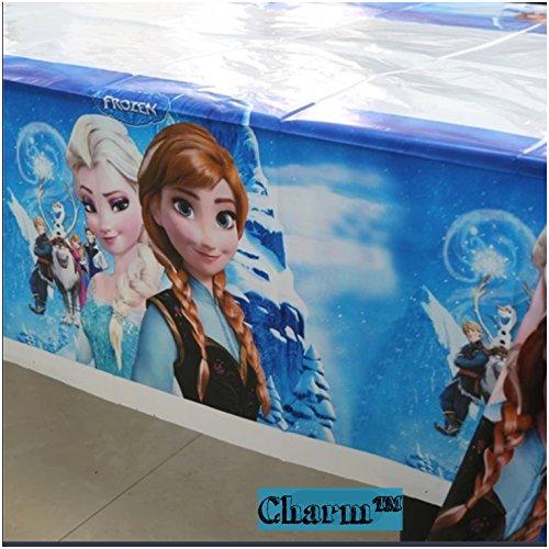 42 x70 Frozen Plastic Table Cover