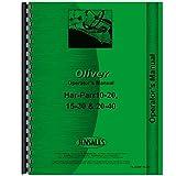 New Oliver (Hart Parr) 15-30 Tractor Operators Manual