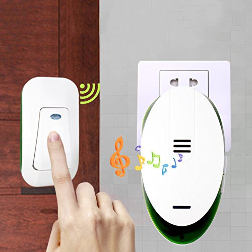 220V Wireless Electric Dingdong Doorbell 1 Waterproof ...