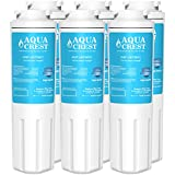 AQUACREST UKF8001 Replacement Refrigerator Water Filter, Compatible with Maytag UKF8001 UKF8001AXX UKF8001P, PUR Jenn-Air UKF8001, EDR4RXD1, Whirlpool 4396395, EveryDrop Filter 4 (Pack of 6)