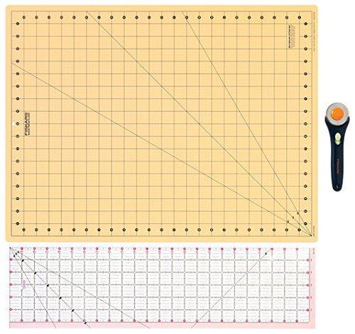 Fiskars 3 Piece Rotary Cutting Set by Fiskars