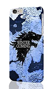 iPhone 6 Plus 3D Case - Game of Thrones map Patterned Beauty Skin Hard 3d Case Cover for Apple iPhone 6 Plus 5.5