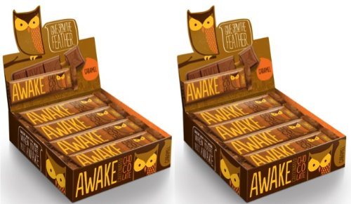 AWAKE Caffeinated Chocolate/Caramel Bar 24pk.