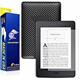 ArmorSuit MilitaryShield - Amazon Kindle Paperwhite (2015) Anti-Glare (Matte) Screen Protector + Black Carbon Fiber Full Body Skin Protector w/ Lifetime Replacements