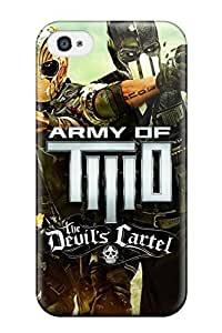 For Iphone Case, High Quality Army Of Two The Devil's Cartel 2013 For Iphone 4/4s Cover Cases