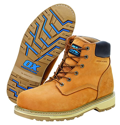 OX ox-s481208 Pro Safety Boot, marrone chiaro, taglia 8