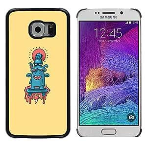 Stuss Case / Funda Carcasa protectora - Pulpo lindo Resumen - Samsung Galaxy S6 EDGE