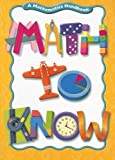 Math to Know, Mary C. Cavanagh, 0669535966