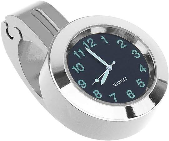 KinshopS - Reloj universal para bicicleta, impermeable, se enriquece con un reloj oscuro para la bicicleta: Amazon.es: Hogar