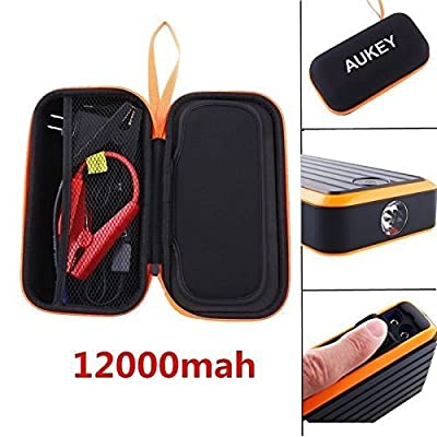 Aukey Portable Power Bank 15V 12000mah Car Jump Starter Booster Charger Battery