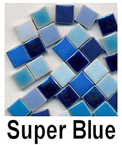 (Micromosaics Mosaic Tile Super Blue Mix)