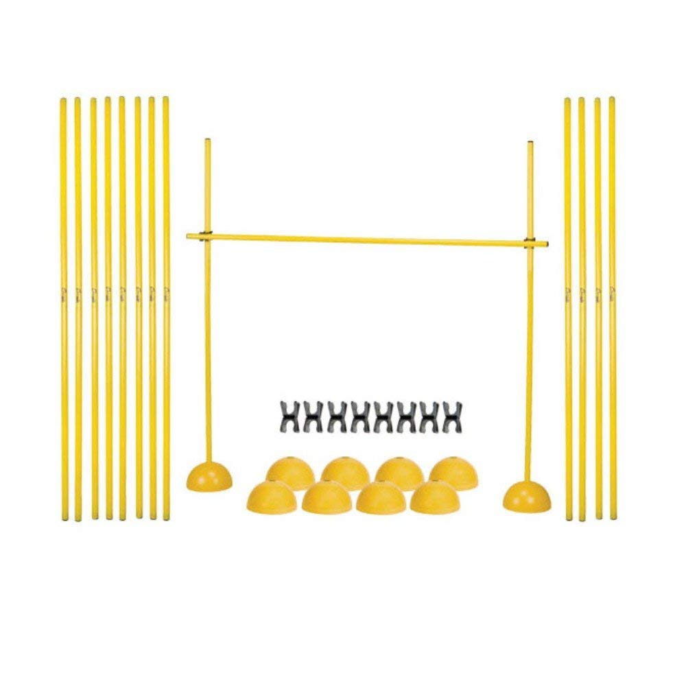 Champion Sports Agility Hurdle Set Renewed Yellow