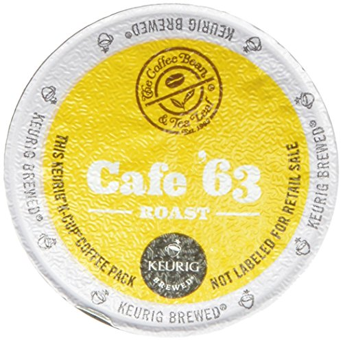 The Coffee Bean and Tea Leaf Cafe 63 Roast Coffee, Keurig K-Cups, 60 Count up