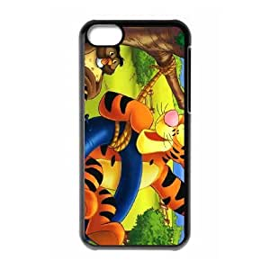 iPhone 5C Cell Phone Case Black The Tigger Movie Hmzega Hard protective Case Shell Cover