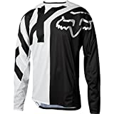 Fox Racing Demo Long-Sleeve Bike Jersey - Men's White/Black, L