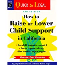 How to Raise or Lower Child Support in California