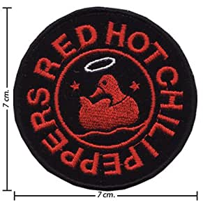 Parche Bordado Red Hot Chili Peppers Rock Music Band Logo III Embroidered iron on patches